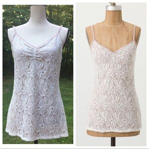 """ANTHROPOLOGIE Layered """"Prima Lace Cami"""" - Large"""